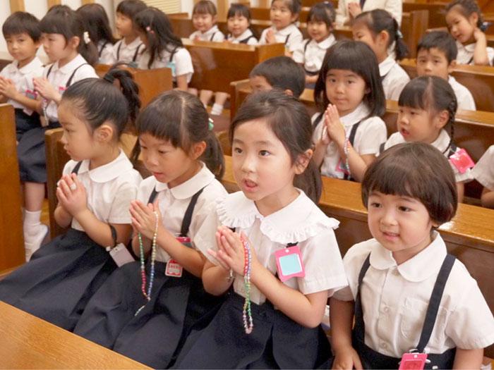 教育方針-キリスト教の教えに根ざした教育